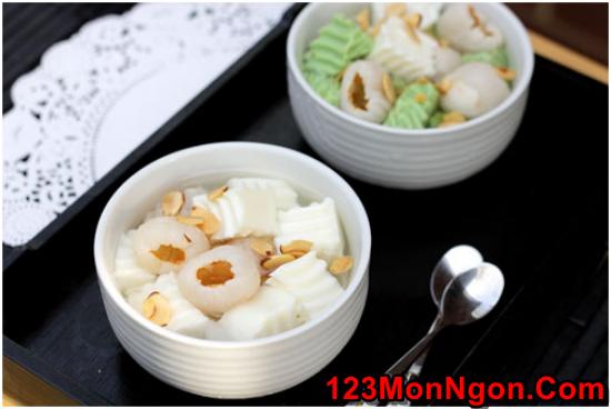 Cách nấu chè khúc bạch thơm mát ngon ngọt cực hấp dẫn mùa hè phần 1
