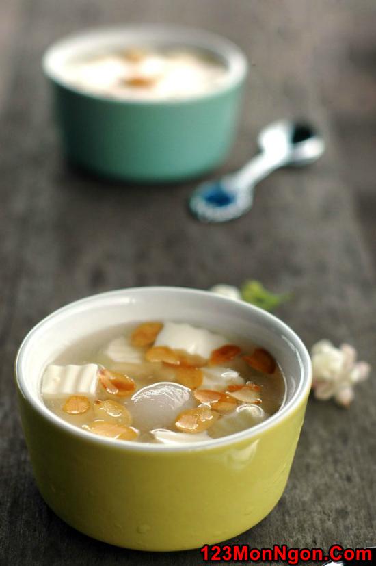 Cách nấu chè khúc bạch thơm mát ngon ngọt cực hấp dẫn mùa hè phần 9