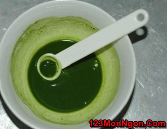 Cách nấu chè khúc bạch trà xanh thơm ngon thanh mát hơn ngoài hàng phần 4