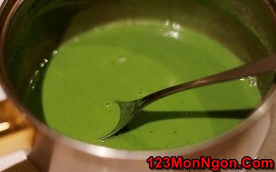 Cách nấu chè khúc bạch trà xanh thơm ngon thanh mát hơn ngoài hàng phần 8