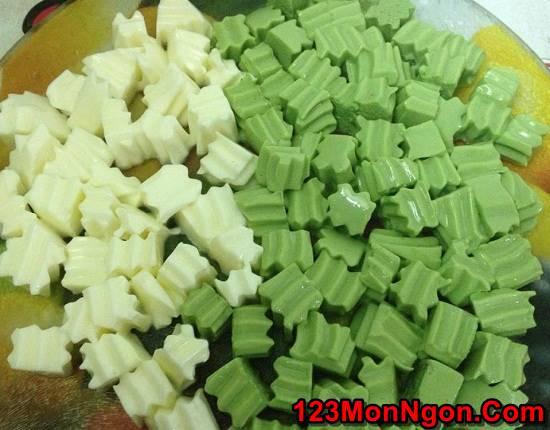Cách nấu chè khúc bạch trà xanh thơm ngon thanh mát hơn ngoài hàng phần 9