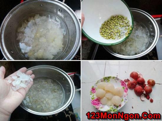 Cách nấu chè vải thiều đậu xanh thơm mát ngon miệng hấp dẫn phần 3