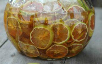 Cách ngâm chanh đào mật ong chua ngọt đậm đà trị ho giải nhiệt ngày nắng hè