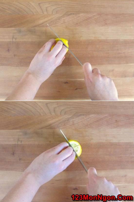 Cách ngâm chanh muối đậm đà thơm ngon cực đơn giản phần 2
