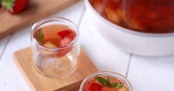 Cách pha trà trái cây mát lạnh thơm ngon bổ dưỡng