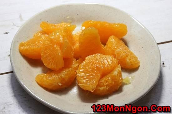 Công thức nấu chè cam tào phớ mới lạ thơm ngon giải nhiệt ngày hè phần 4
