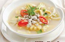 Hướng dẫn cách làm canh hến nấu chua thanh mát thơm ngon cho bữa trưa hè
