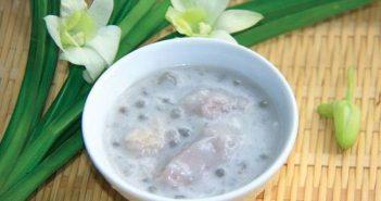 Hướng dẫn nấu chè khoai sọ bột báng nước cốt dừa thơm ngon ngất ngây