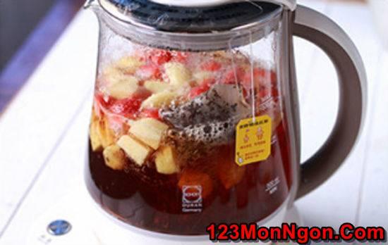 Hướng dẫn pha chế trà trái cây thơm mát ngon miệng giải nhiệt ngày hè phần 4