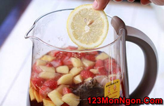 Hướng dẫn pha chế trà trái cây thơm mát ngon miệng giải nhiệt ngày hè phần 5
