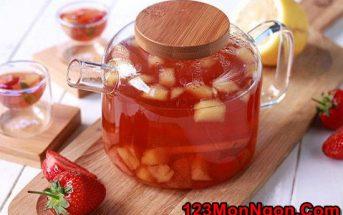 Hướng dẫn pha chế trà trái cây thơm mát ngon miệng giải nhiệt ngày hè