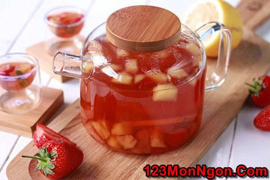 Hướng dẫn pha chế trà trái cây thơm mát ngon miệng giải nhiệt ngày hè phần 6
