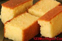 Bật mí cách làm bánh bông lan nướng thơm lừng đơn giản ngon tuyệt