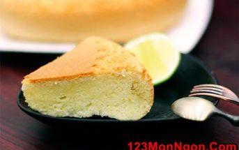 Cách làm bánh bông lan bằng nồi cơm điện đơn giản mà vẫn mềm xốp thơm ngon