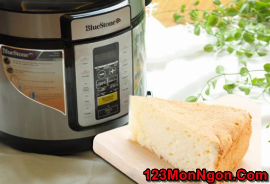Cách làm bánh bông lan bằng nồi cơm điện mềm ngon đơn giản nhất phần 1