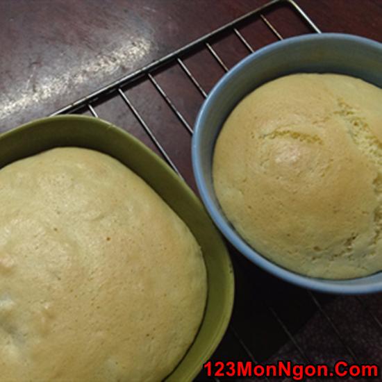 Cách làm bánh bông lan chuối Thái Lan mới lạ thơm ngon ăn là ghiền phần 10
