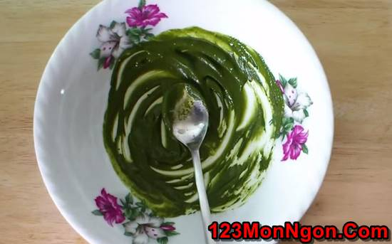 Cách làm bánh bông lan cuộn trà xanh thơm mát ngon tuyệt khó cưỡng nổi phần 2