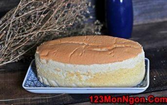Cách làm bánh bông lan dễ nhất mà vẫn thơm ngon mềm mịn