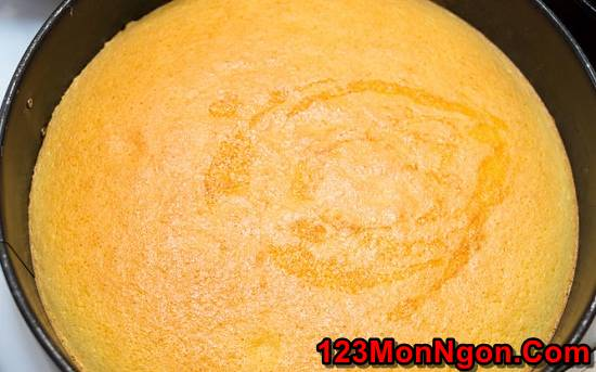 Cách làm bánh bông lan đơn giản mềm xốp tại nhà cực ngon phần 7
