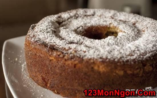 Cách làm bánh bông lan hạnh nhân mới lạ thơm ngon giàu dinh dưỡng phần 1