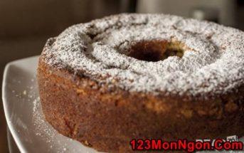 Cách làm bánh bông lan hạnh nhân mới lạ thơm ngon giàu dinh dưỡng
