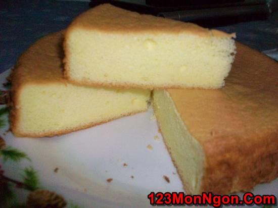 Cách làm bánh bông lan hấp bằng nồi cơm điện thơm ngon tại nhà phần 2