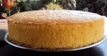 Cách làm bánh bông lan hấp bằng nồi cơm điện thơm ngon tại nhà