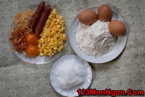 Cách làm bánh bông lan mặn đậm đà thơm ngon cho bữa sáng đủ chất phần 2