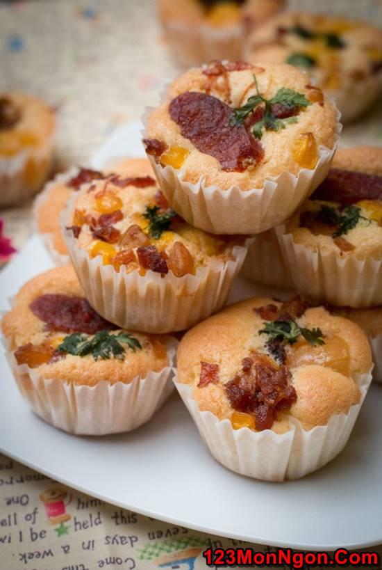 Cách làm bánh bông lan mặn đậm đà thơm ngon cho bữa sáng đủ chất phần 7