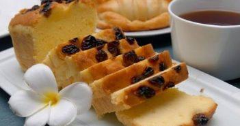 Cách làm bánh bông lan nho khô thơm béo ngon miệng ăn là ghiền
