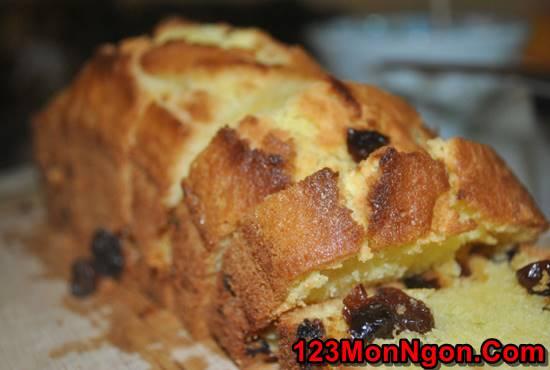 Cách làm bánh bông lan nho khô thơm béo ngon miệng ăn là ghiền phần 5