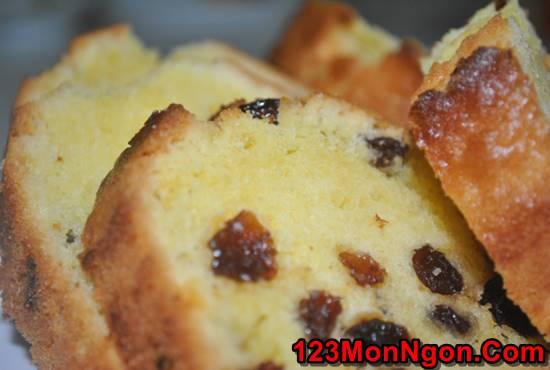 Cách làm bánh bông lan nho khô thơm béo ngon miệng ăn là ghiền phần 6