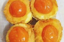 Cách làm bánh bông lan trứng muối cực ngon cực hấp dẫn nhìn là mê