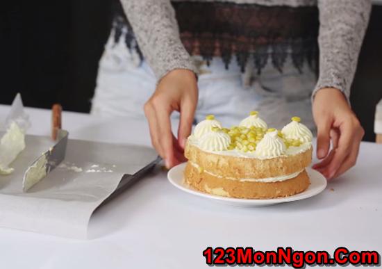 Cách làm bánh kem bắp thơm ngon đẹp mắt không thể chối từ phần 10
