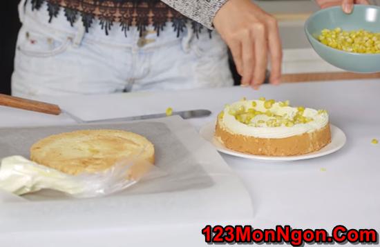 Cách làm bánh kem bắp thơm ngon đẹp mắt không thể chối từ phần 9
