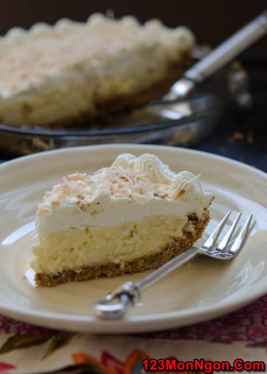 Cách làm bánh kem dừa mềm xốp thơm ngon khó chối từ phần 12