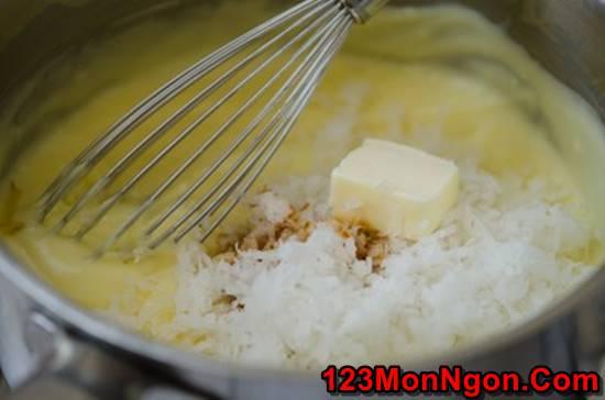 Cách làm bánh kem dừa mềm xốp thơm ngon khó chối từ phần 7