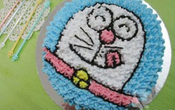 Cách làm bánh sinh nhật hình Doremon ngộ nghĩnh cực ngon miệng