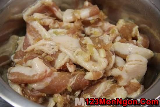Cách làm bún thịt nướng thơm lừng ngon đúng vị Hà Nội phần 1