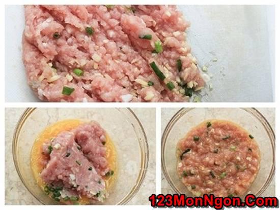 Cách làm cà tím kẹp thịt chiên giòn đơn giản thơm ngon đổi vị cuối tuần phần 2
