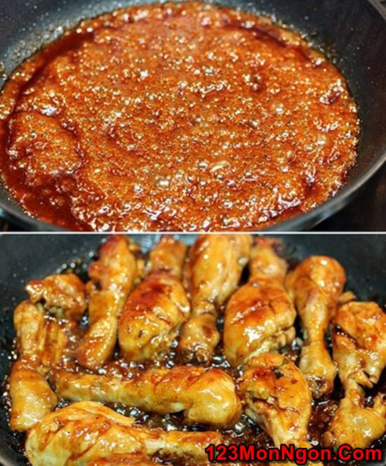 Cách làm đùi gà sốt chua cay đậm đà cực ngon khó cưỡng phần 7