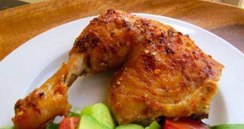 Cách làm gà nướng chanh ớt chua cay cuốn hút cực ngon cơm