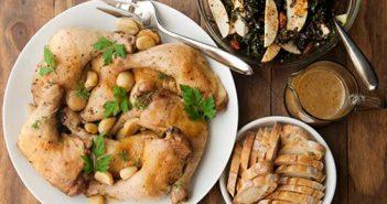 Cách làm gà om tỏi thơm lừng cực ngon miệng khó cưỡng