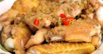 Cách làm món cánh gà rang sả thơm lừng mềm ngon ăn là ghiền