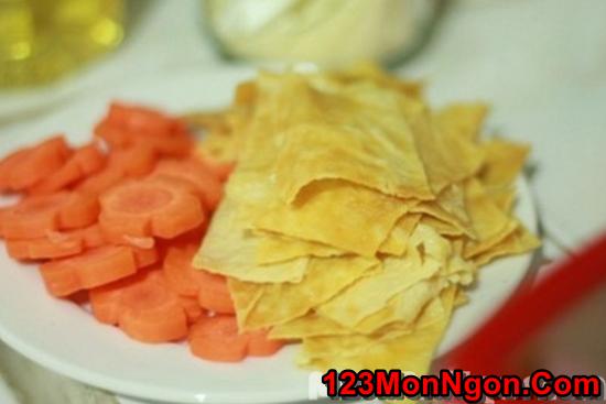 Cách làm món nấm xào rau củ thanh đạm bổ dưỡng cho ngày ăn chay phần 2
