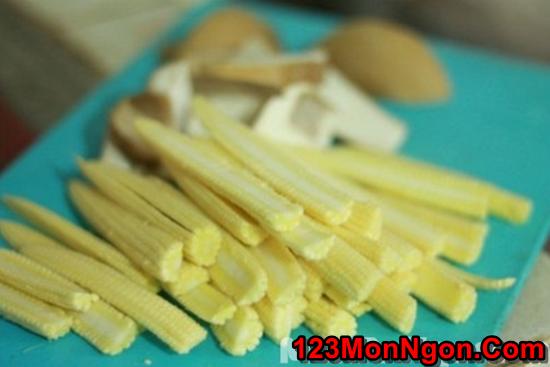 Cách làm món nấm xào rau củ thanh đạm bổ dưỡng cho ngày ăn chay phần 3