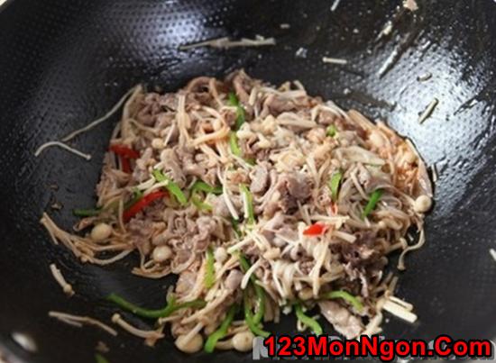 Cách làm món thịt bò xào nấm ngon lạ hấp dẫn cực đơn giản phần 9