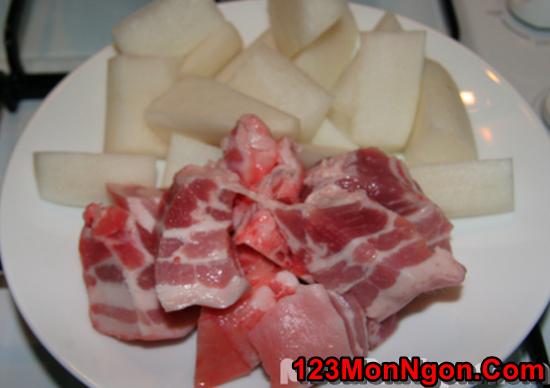 Cách làm món thịt lợn kho củ cải đậm đà thơm ngon đưa cơm ngày mưa phần 2