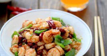 Cách làm món tôm xào lạc cay thơm hấp dẫn cực ngon cơm