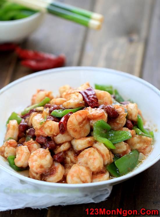 Cách làm món tôm xào lạc cay thơm hấp dẫn cực ngon cơm phần 5